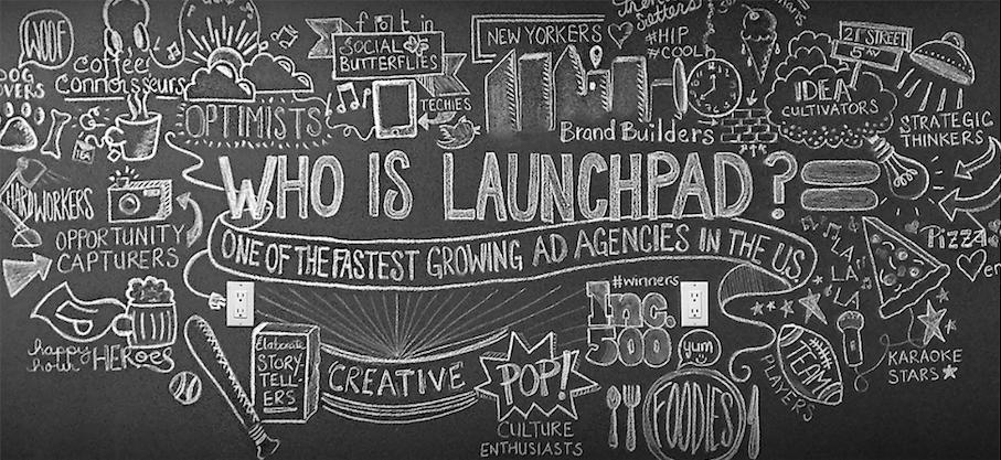 Launchpad chalkboard